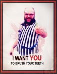 I want you_brushteeth_poster copy