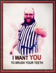 I want you_brushteeth_poster copy