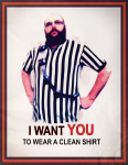 I want you_cleanshirt_poster copy