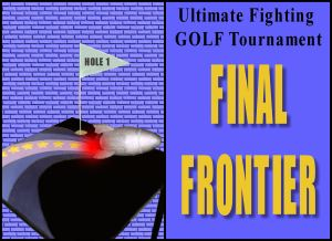 Ultiimate Fighting GOLF Tournament hole 1