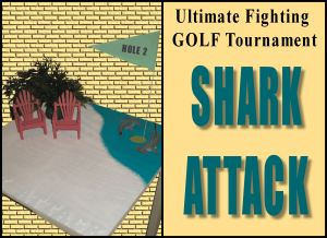 Ultiimate Fighting GOLF Tournament hole 2