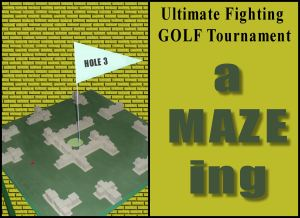 Ultiimate Fighting GOLF Tournament hole 3