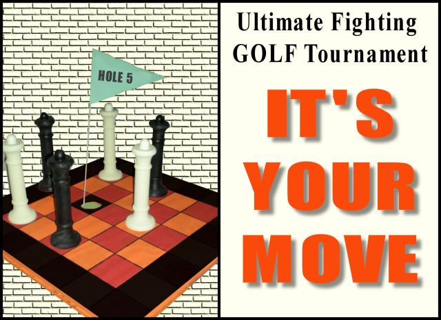 Ultiimate Fighting GOLF Tournament hole 5