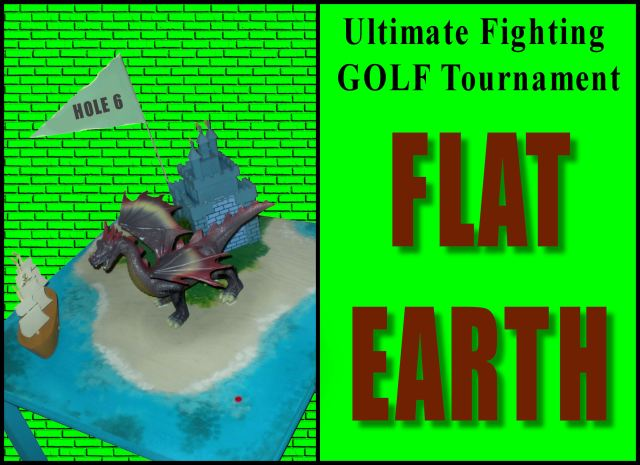 Ultiimate Fighting GOLF Tournament hole 6