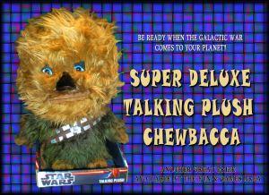 WEBSITE PROMO 004 TALKING CHEWBACCA